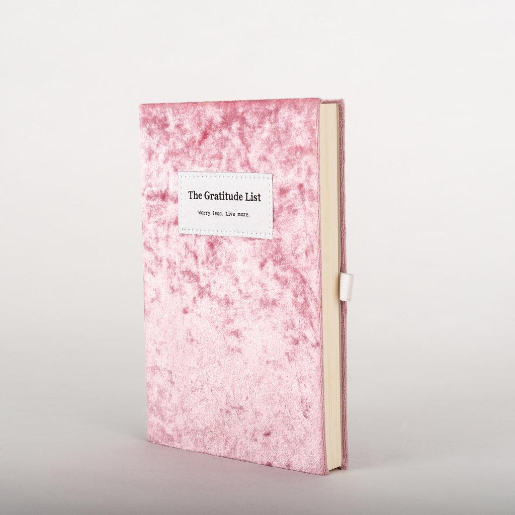 The Gratitude List The Gratitude List notebook