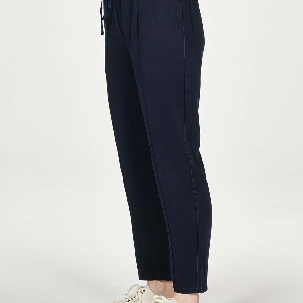 Thought Thought Luella tie front trousers navy
