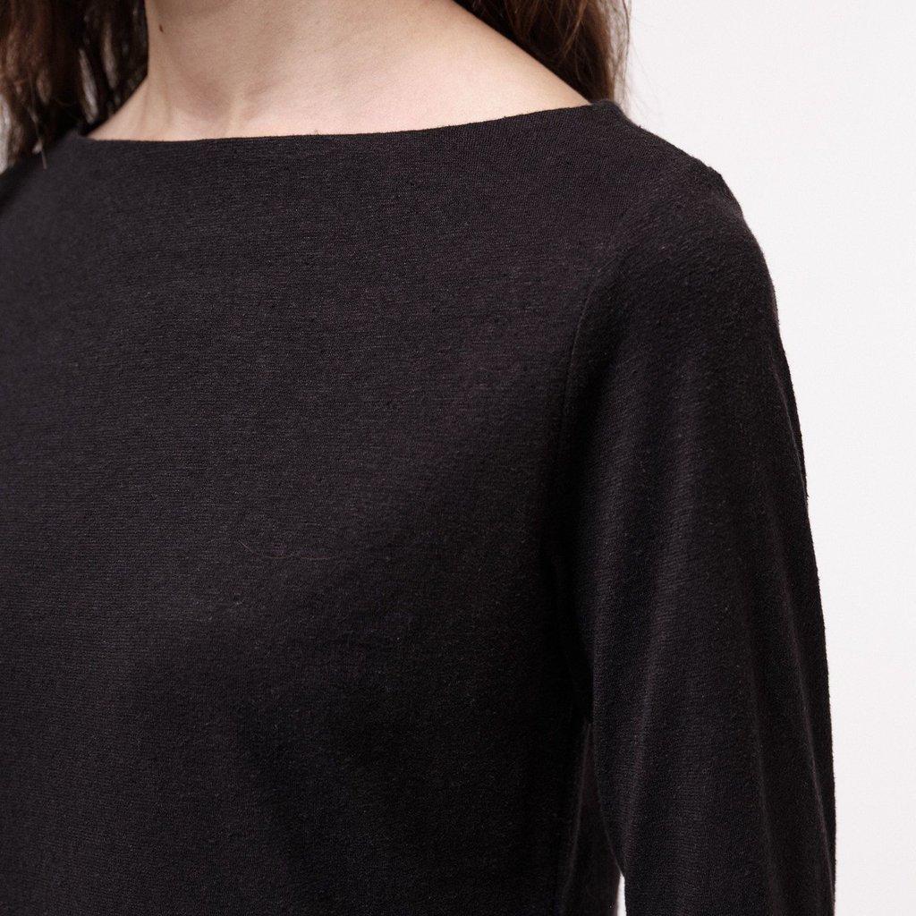 Lanius Lanius Angelina u-boot shirt black
