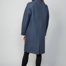 Langerchen LangerChen Coat Darien steel blue