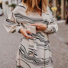 Lasalle LaSalle Belted dress
