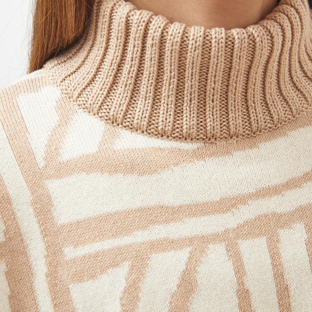 Mila.vert Mila.vert knitted  art bricks pullover