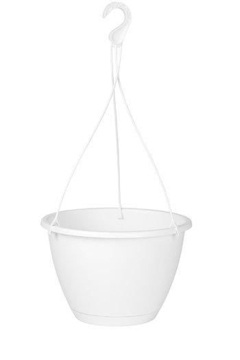 Hangpot Algarve Ø25 x 25 cm  wit
