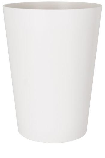 Plantenbak Porto mat Ø40 x 50 cm wit