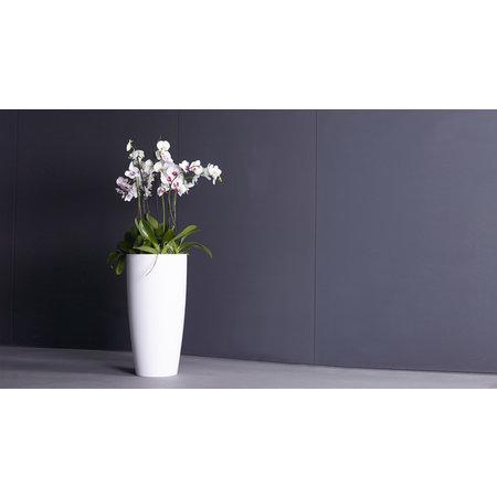 Artevasi Plantenbak Santorini Ø33 x 64 cm wit