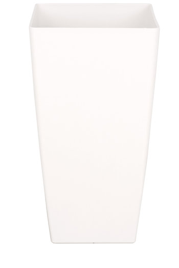 Plantenbak Pisa 33 x 33 x 60 cm wit