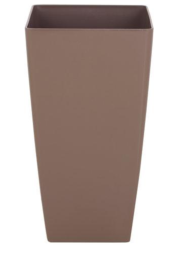 Plantenbak Pisa 33 x 33 x 60 cm taupe