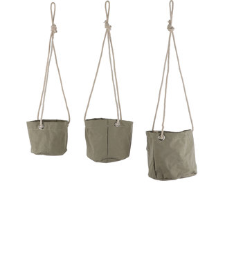 Mica Decorations Hangmand Flexi groen set 3st