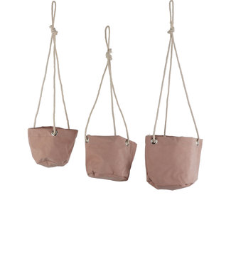 Mica Decorations Hangmand Flexi roze set 3 st