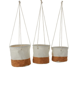 Mica Decorations Hangpot Darcia set 3 st