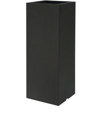 Euro3plast Plantenbak Polyester Kube High Slim zwart
