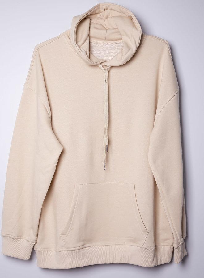 Let's get cosy unisex oversized hoodie