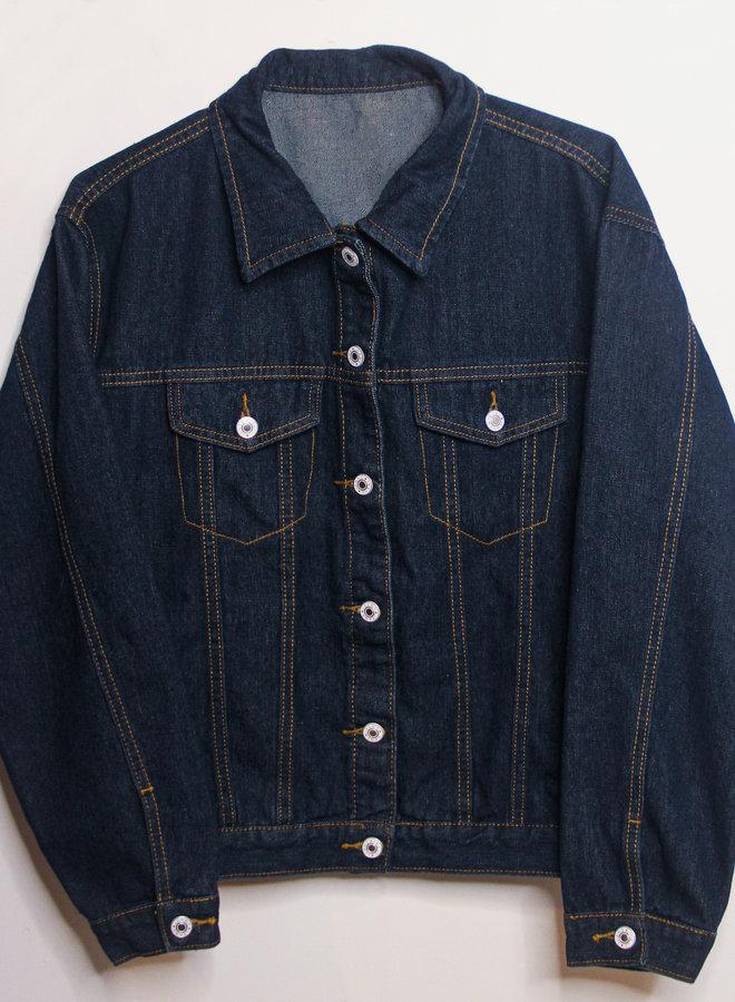 Classic Oversized denim jacket