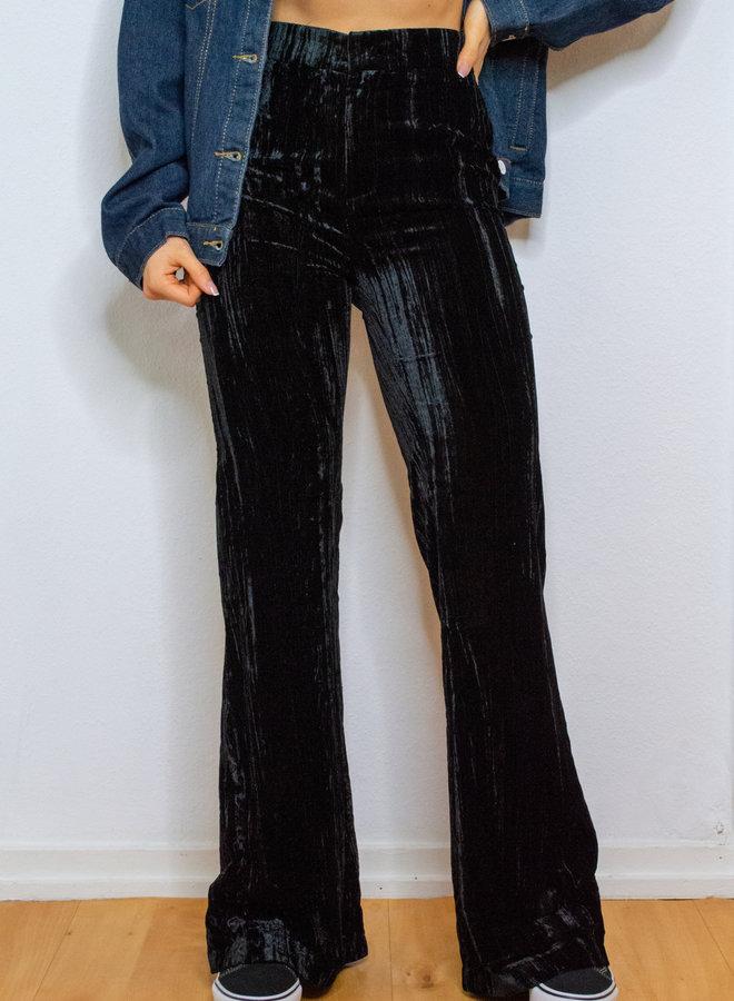 Black Velvet Pantalon