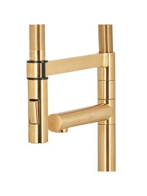 HotSpot Titanium Flex XL Gold Tap