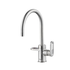 Alessio Stainless Steel Effect Tap
