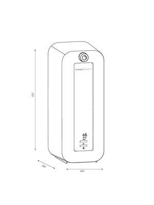 HotSpot Titanium 8-litre combi heater - Copy