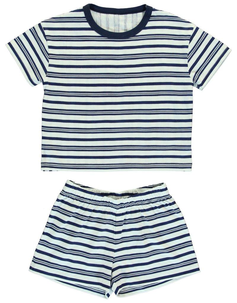 Dorélit Chaldene & Cressida | Pajama Set Jersey | Blue
