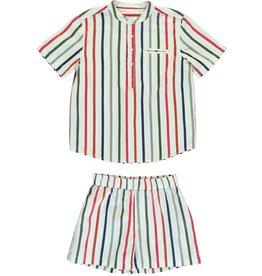 Dorélit Acamar & Mars | Pajama Set Woven | Multicolor