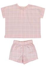 Dorélit Calypso & Cupido   Pajama Set Woven   Pink
