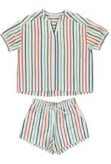 Dorélit Canopus & Cupido | Pajama Set Woven | Multicolor