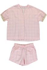 Dorélit Canopus & Cupido | Pajama Set Woven | Pink