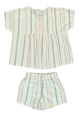 Dorélit Cor & Cupido | Pajama Set Woven | Chili
