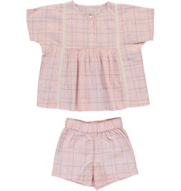 Dorélit Cor & Cupido | Pajama Set Woven | Pink