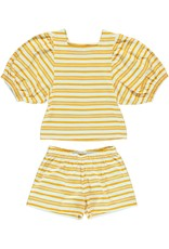 Dorélit Chaldene & Caroli | Pajama Set Jersey | Yellow