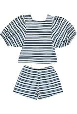 Dorélit Chaldene & Caroli   Pajama Set Jersey   Blue
