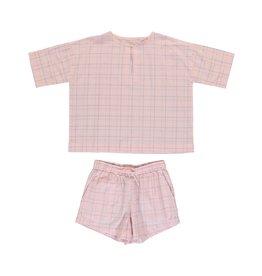 Dorélit Calypso & Cupido | Pajama Set Woven | Pink
