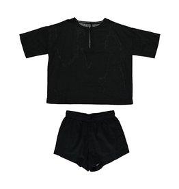 Dorélit Calypso & Cupido | Pajama Set Woven | Black