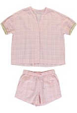Dorélit Canopus & Cupido   Pajama Set Woven   Pink