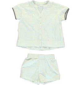 Dorélit Canopus & Cupido | Pajama Set Woven | Offwhite