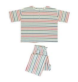 Dorélit Calypso & Alkes | Pajama Set Woven | Multicolor