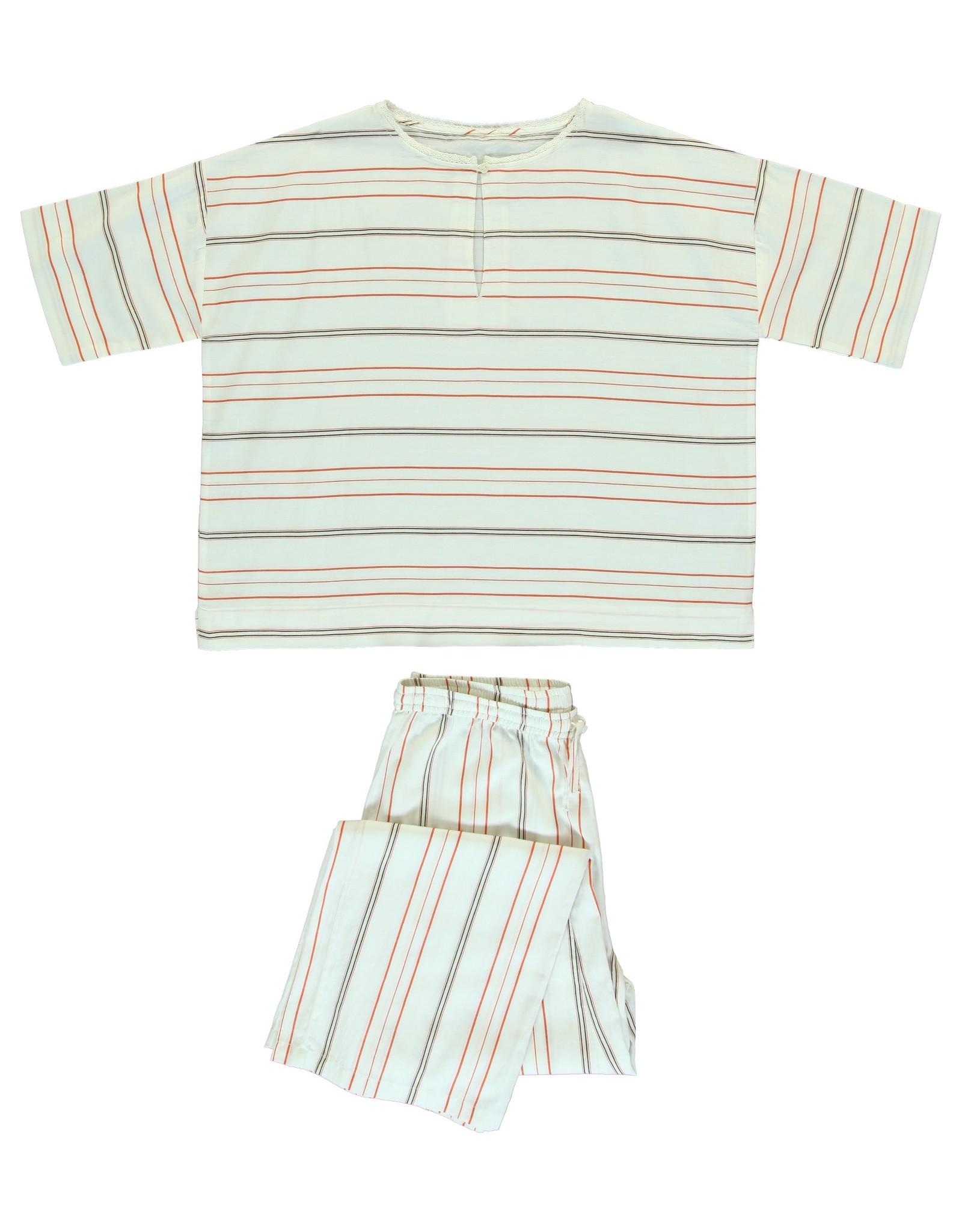 Dorélit Calypso & Alkes | Pajama Set Woven | Chili