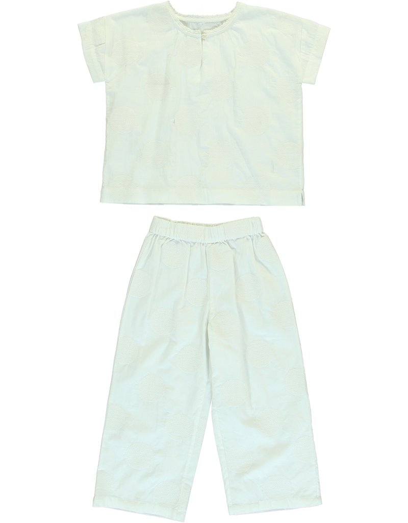 Dorélit Calypso & Alkes | Pajama Set Woven | Offwhite