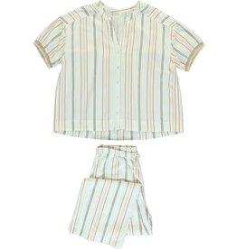Dorélit Canopus & Alkes | Pajama Set Woven | Chili
