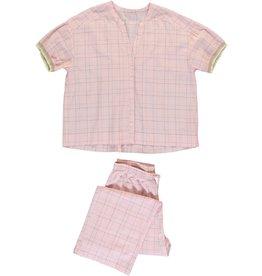 Dorélit Canopus & Alkes | Pajama Set Woven | Pink