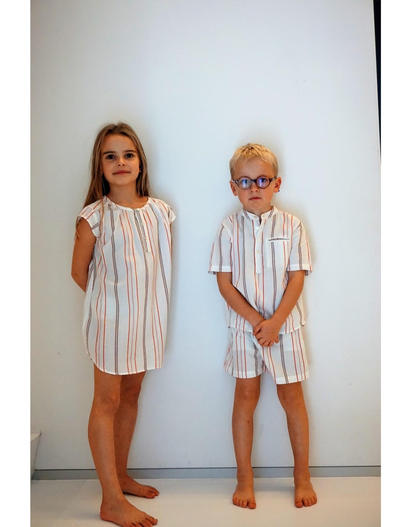 Dorélit Acamar & Mars | Pajama Set Woven | Chili