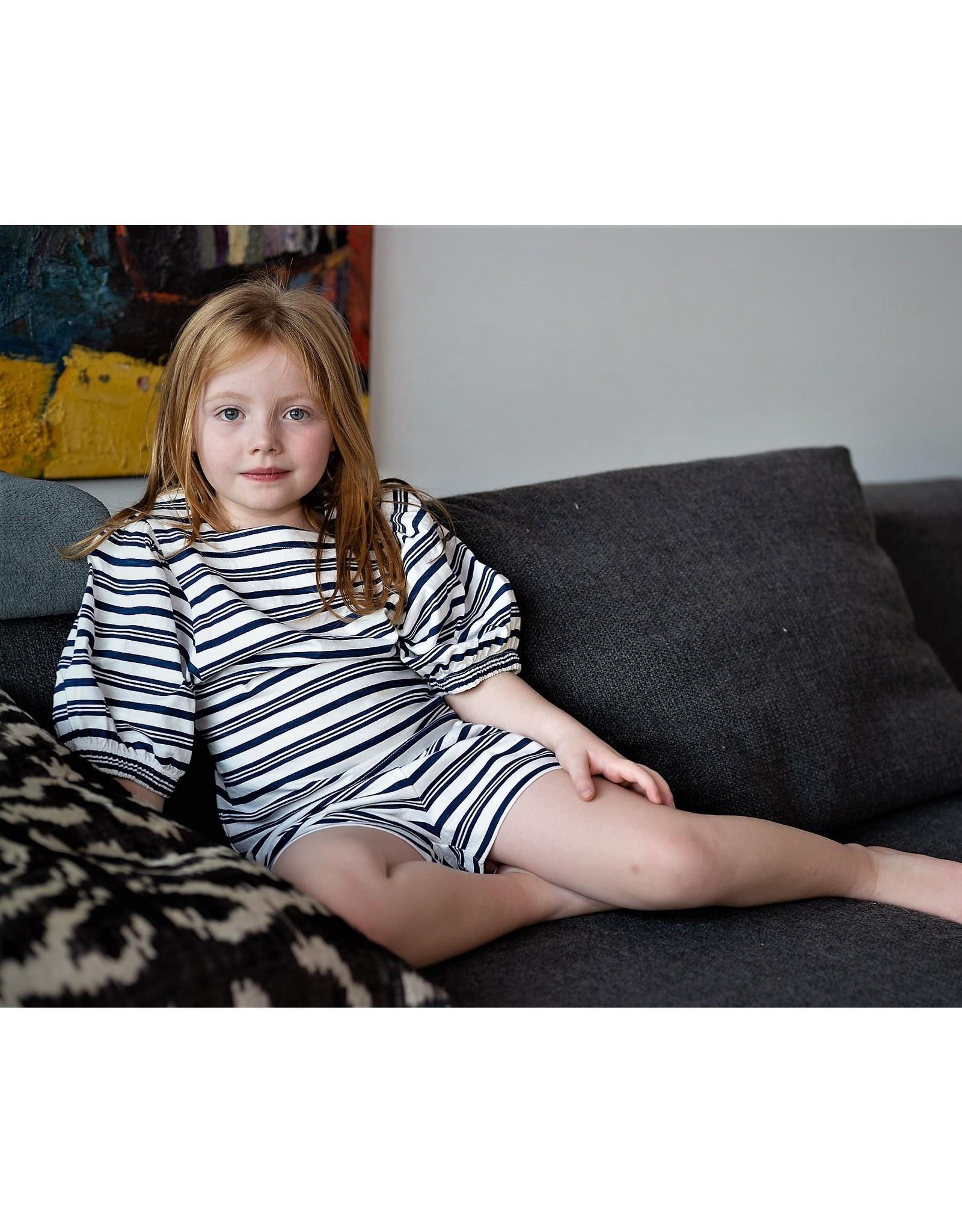 Dorélit Chaldene & Caroli | Pajama Set Jersey | Blue