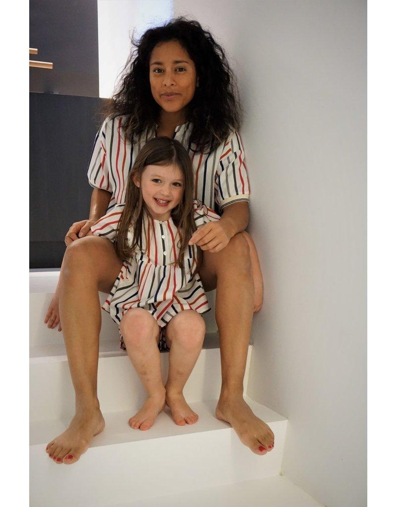Dorélit Cor & Cupido | Pajama Set Woven | Multicolor