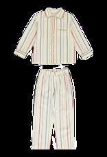 Dorélit Mercure + Venus   Pajama Set Woven   Stripe Multi
