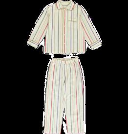 Dorélit Mercure + Venus | Pajama Set Woven | Stripe Multi