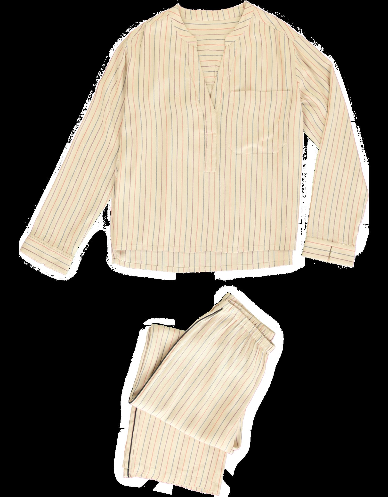 Dorélit Dione + Deneb | Pajama Set Woven | Beige