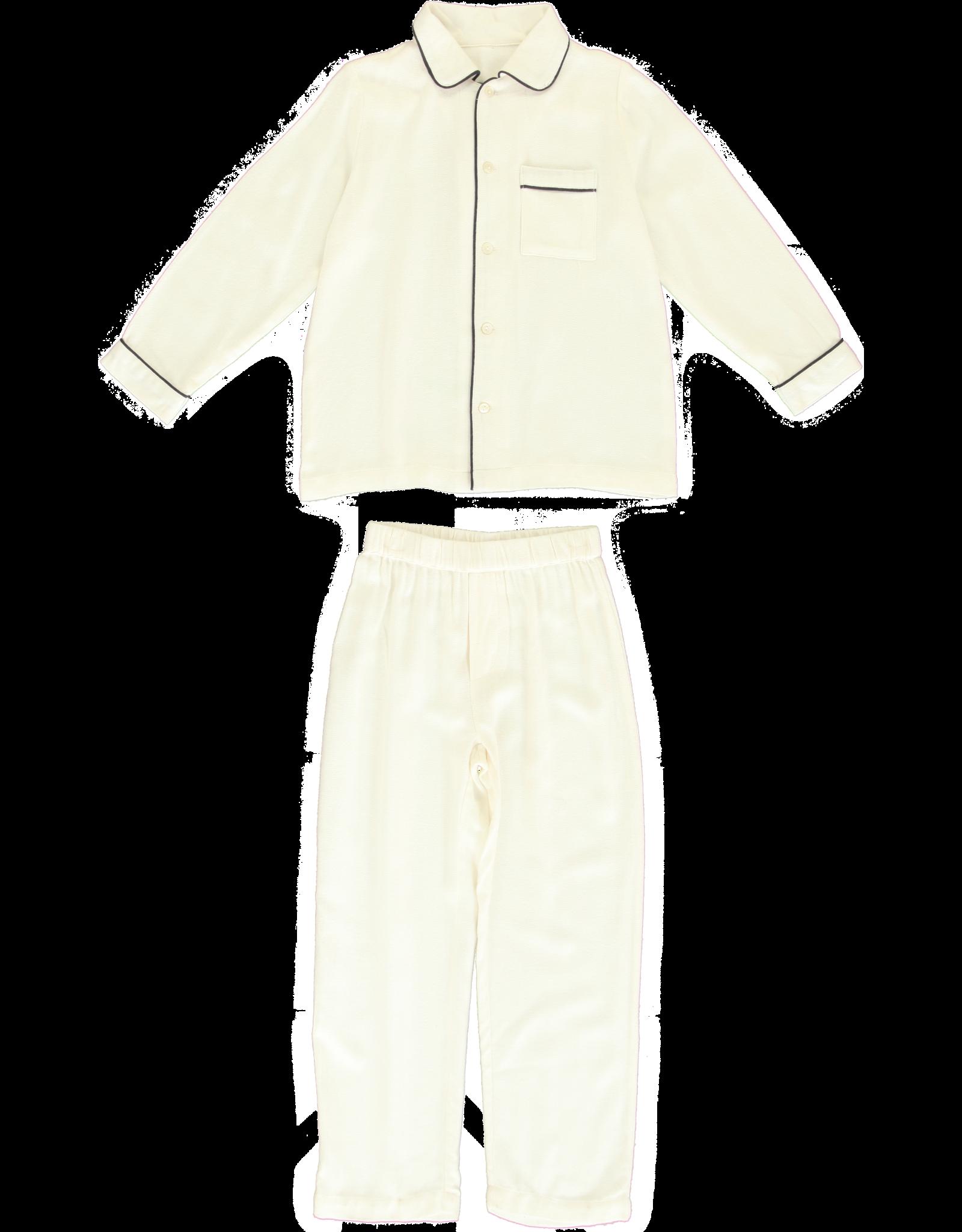 Dorélit Mercure + Venus   Pajama Set Woven   Offwhite