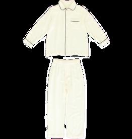 Dorélit Mercure + Venus | Pajama Set Woven | Offwhite
