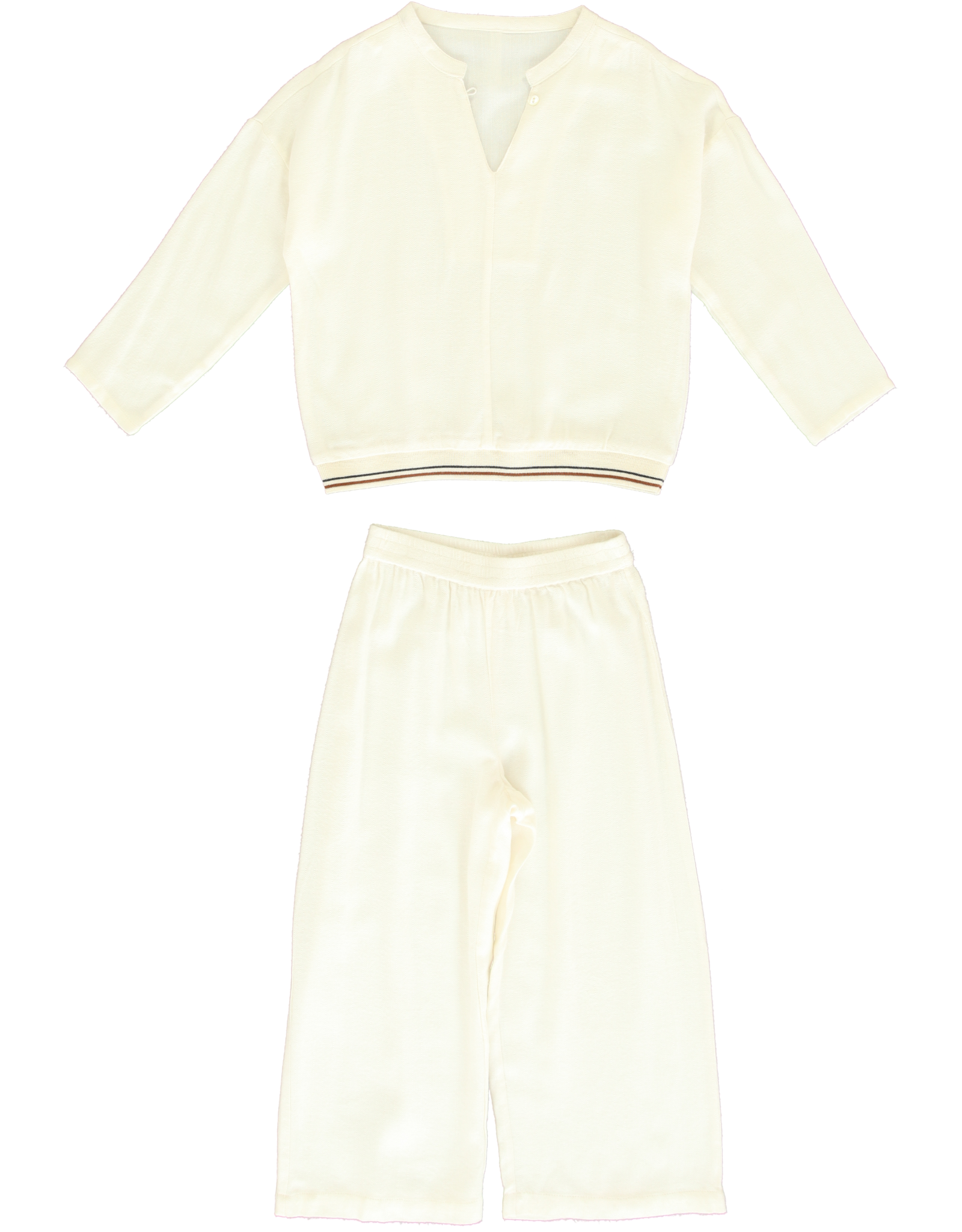 Dorélit Deline + Alkes | Pajama Set Woven | Offwhite