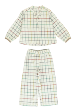 Dorélit Diane + Alkes   Pajama Set Woven   Check Multi
