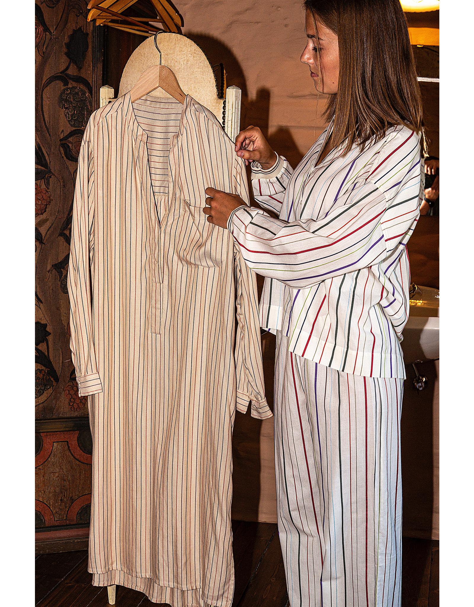 Dorélit Diane + Alkes | Pajama Set Woven | Stripe Multi